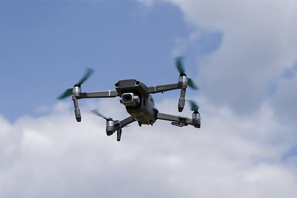 Campi d'azione termografia con drone