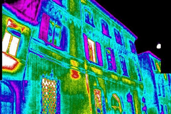 Termografia edifici