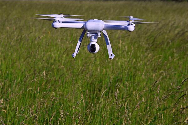 volo con droni rilievo topografico