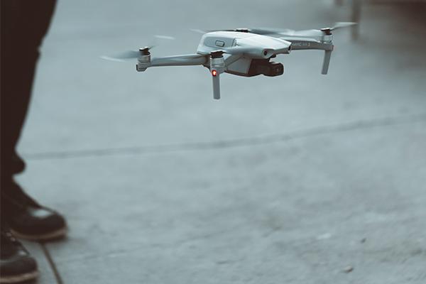 Decollo drone