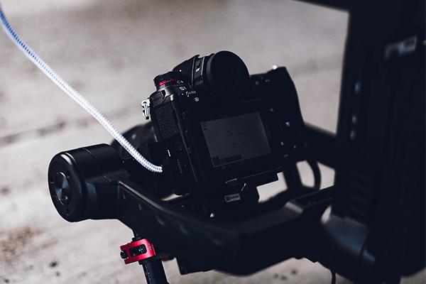Gimbal servizi con drone