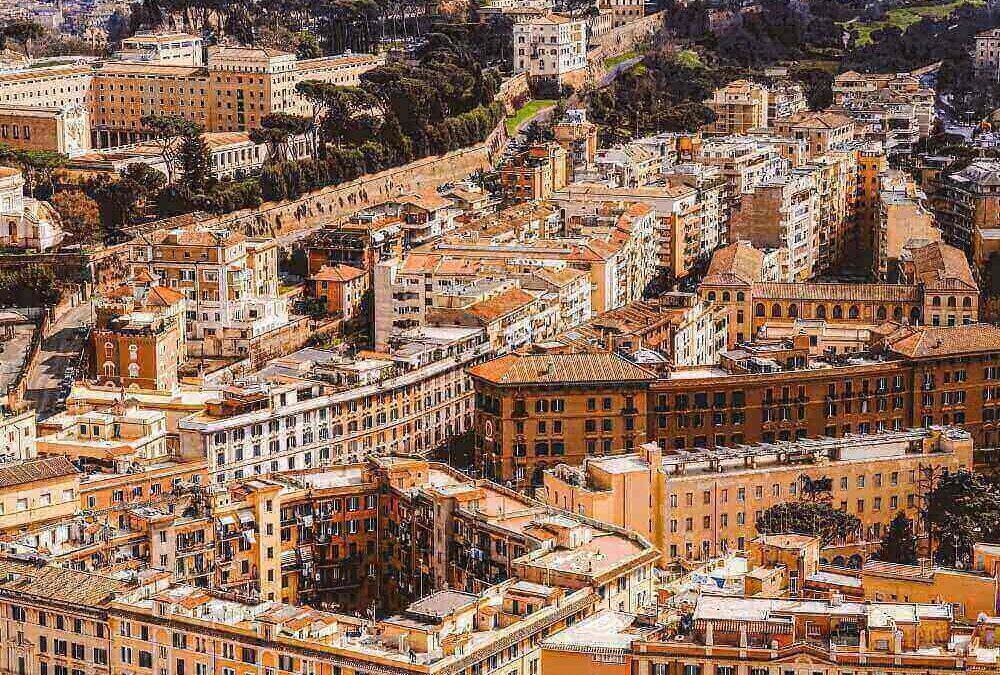 DRONE SU ROMA