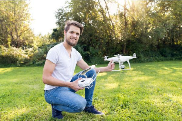 Lavorare con drone Drone Pro Service