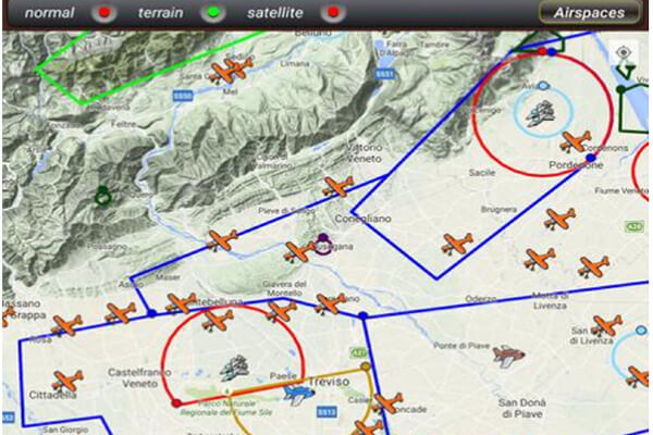 app airspace drone pro service